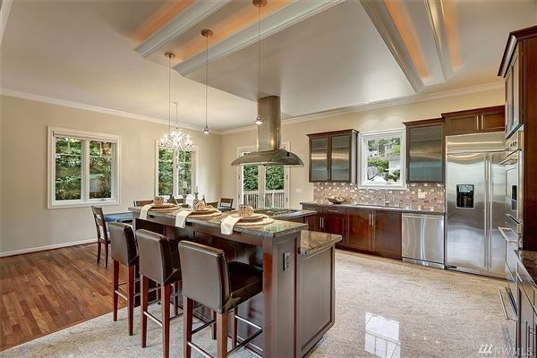 Luxury real estate magnificent custom home in ideal location