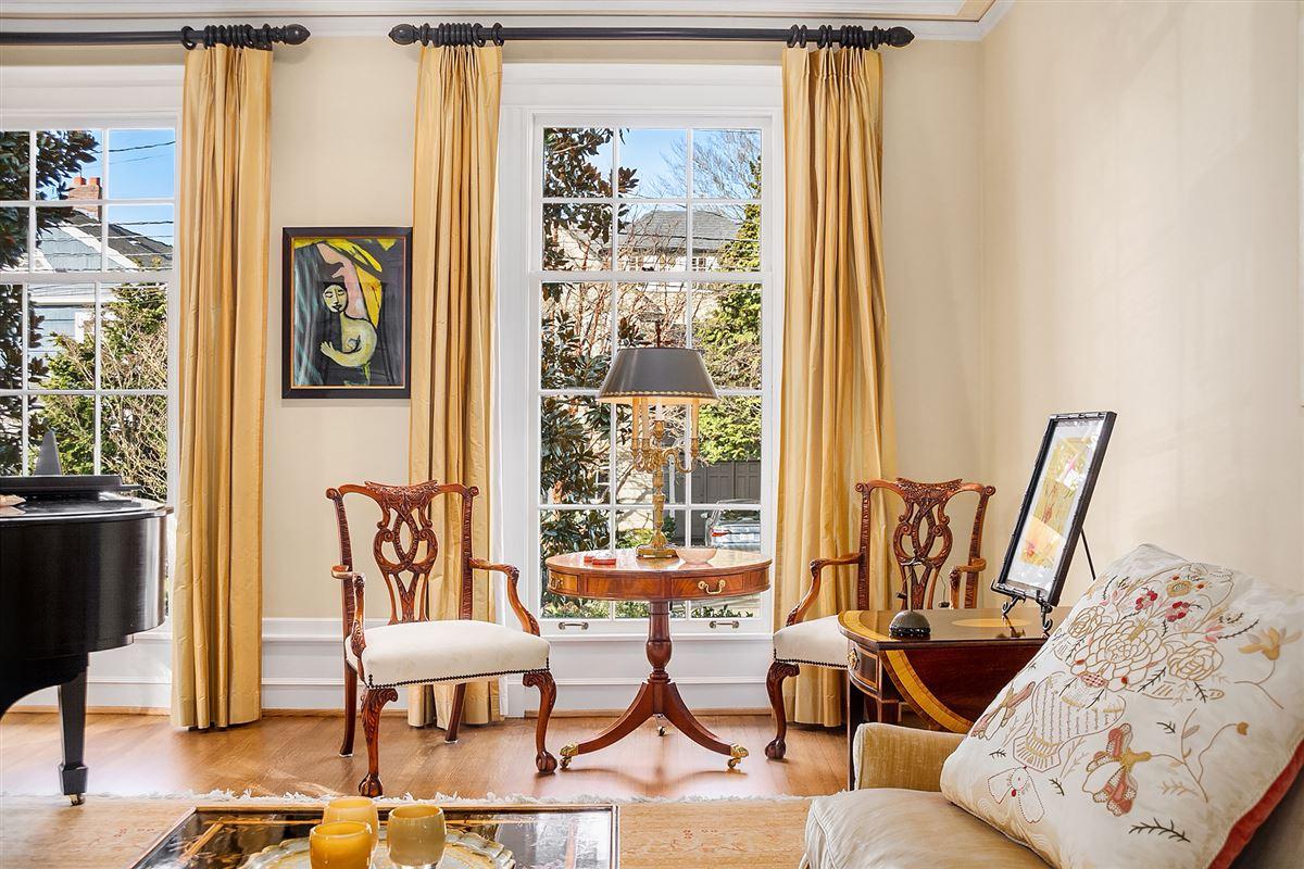 tastefully restored 1921 Georgian Colonial luxury real estate