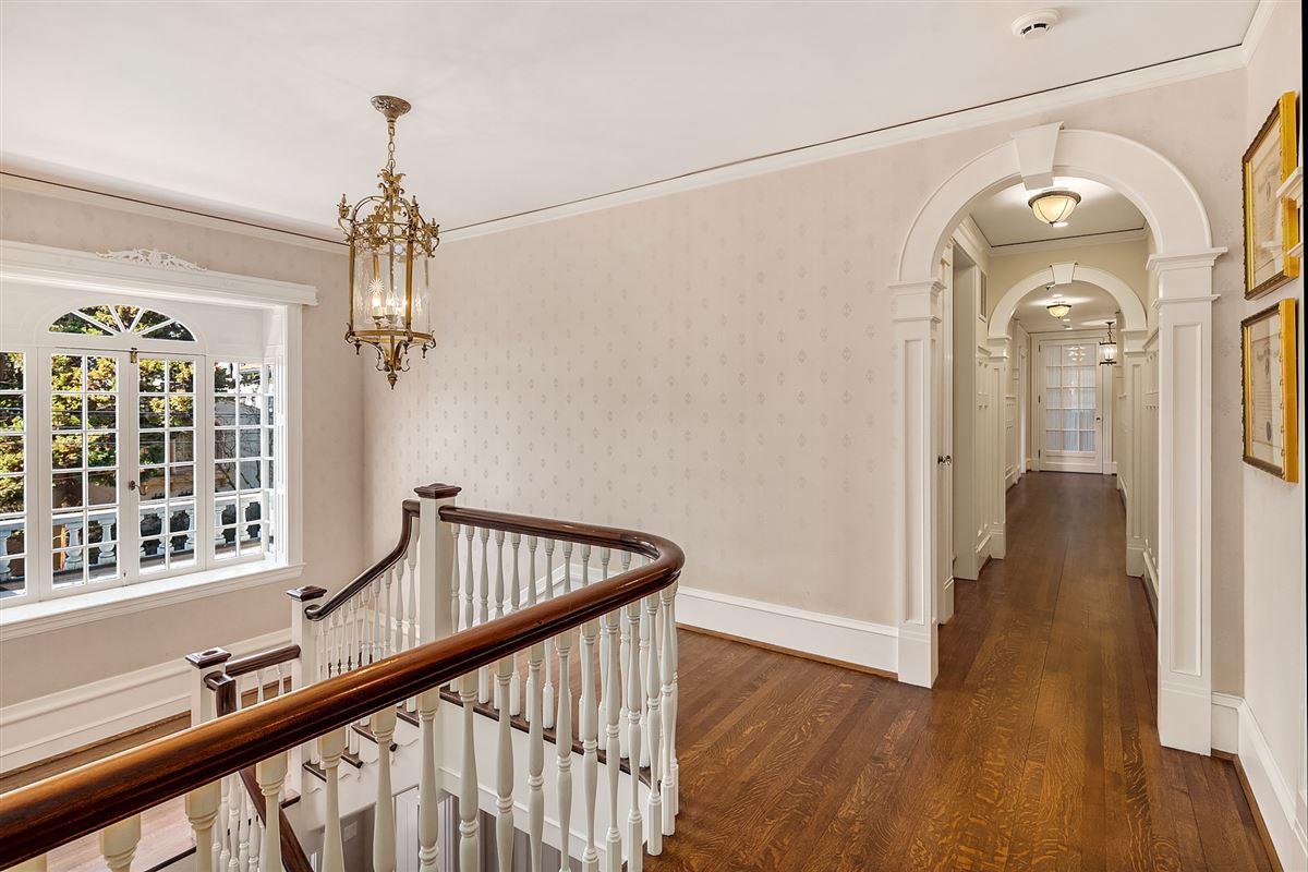Luxury real estate tastefully restored 1921 Georgian Colonial