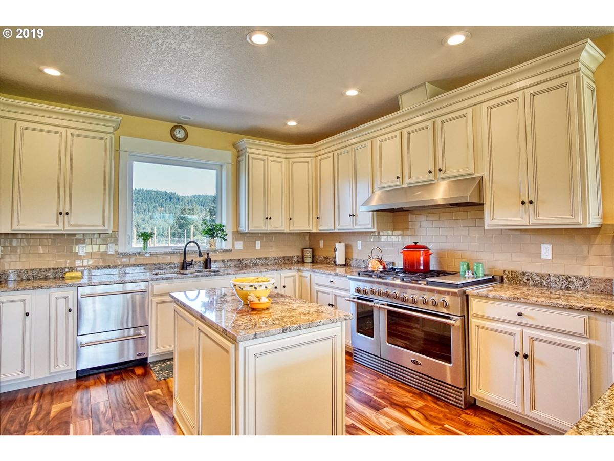 Beautiful new home with stunning Mt. Hood views luxury homes