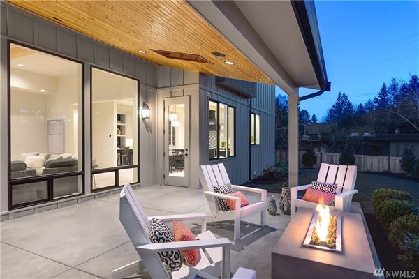 Luxury homes in Newly completed modern farmhouse in the heart of Mercer Island