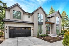 Luxury real estate Newly completed modern farmhouse in the heart of Mercer Island