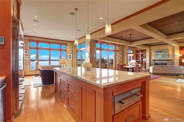 Luxury real estate gorgeous four bedroom Northwest style home