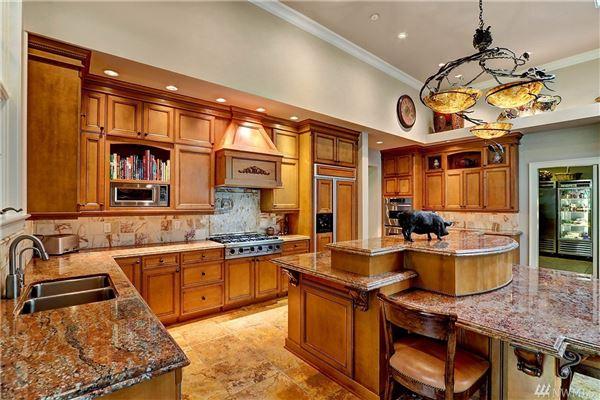 Luxury real estate privately gated custom estate