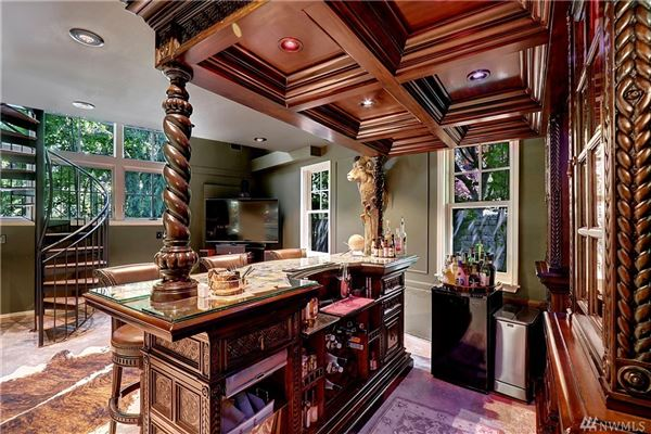 Luxury homes privately gated custom estate