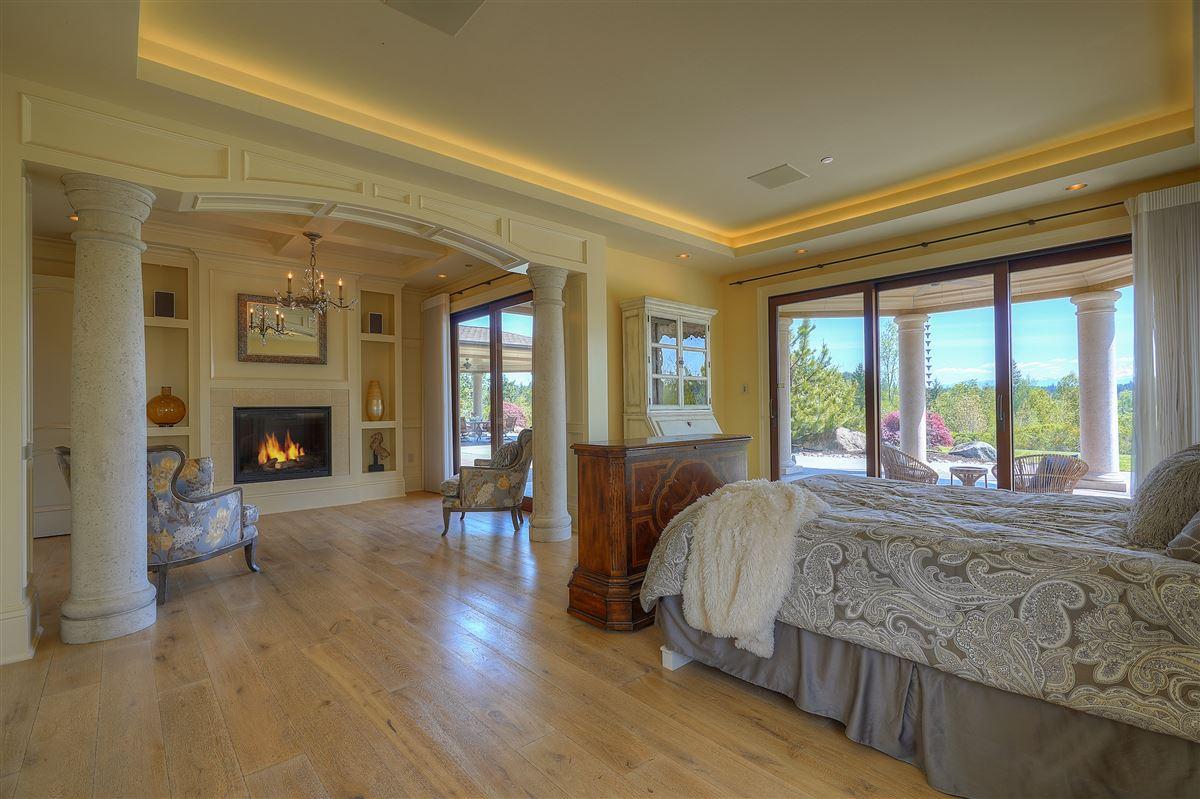 stunning views of Majestic Mt. Rainier  luxury real estate