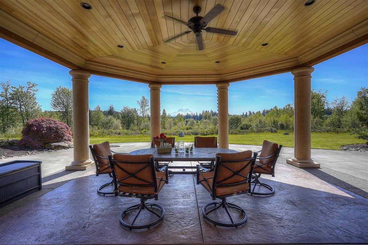 Luxury properties stunning views of Majestic Mt. Rainier