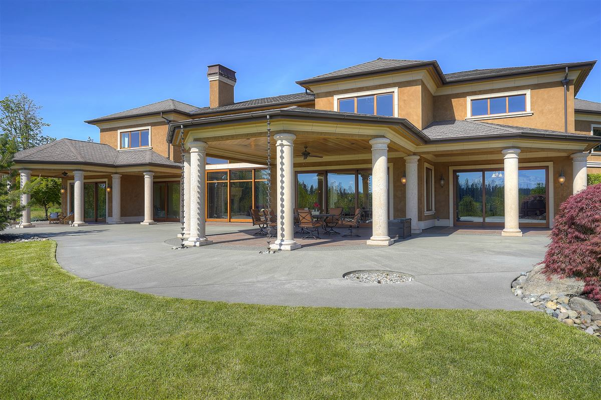 stunning views of Majestic Mt. Rainier  luxury properties