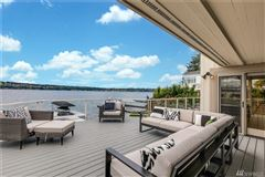 waterfront Near the end of quiet Champagne Point  luxury properties