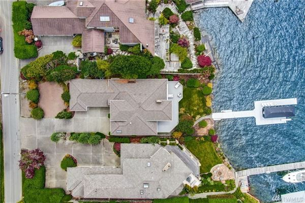 waterfront Near the end of quiet Champagne Point  luxury real estate