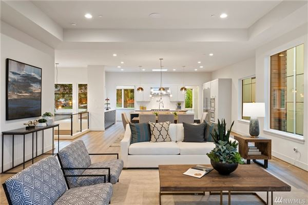 Luxury homes in gorgeous custom Northwest Contemporary home
