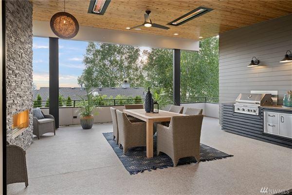 Luxury homes gorgeous custom Northwest Contemporary home