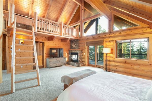 Luxury homes in private mountain retreat with panoramic views