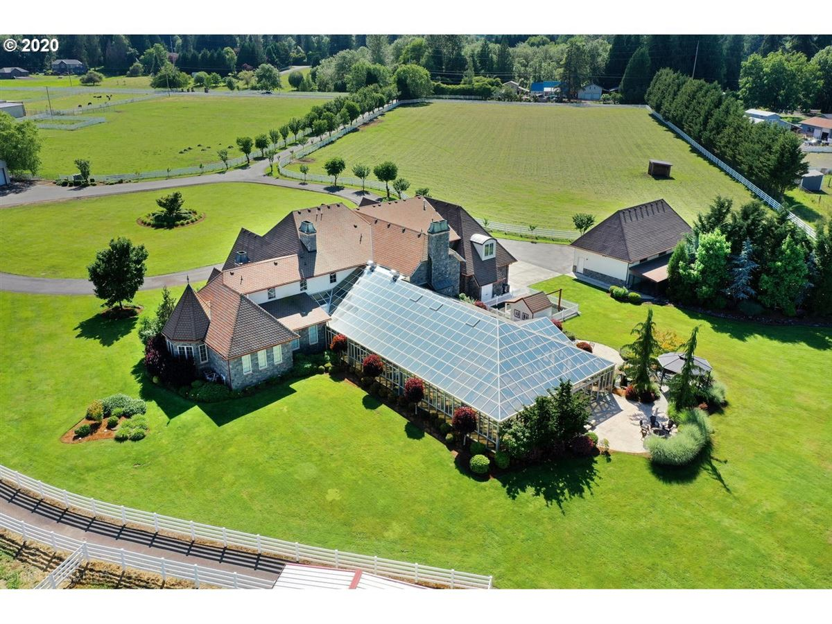 European Country Chateau on 20 acres mansions