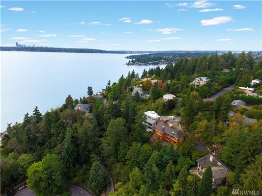 Rare gated estate with lake and city views luxury properties