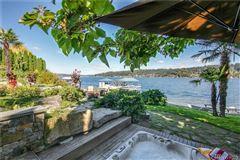 Luxury homes iconic Lake Sammamish estate