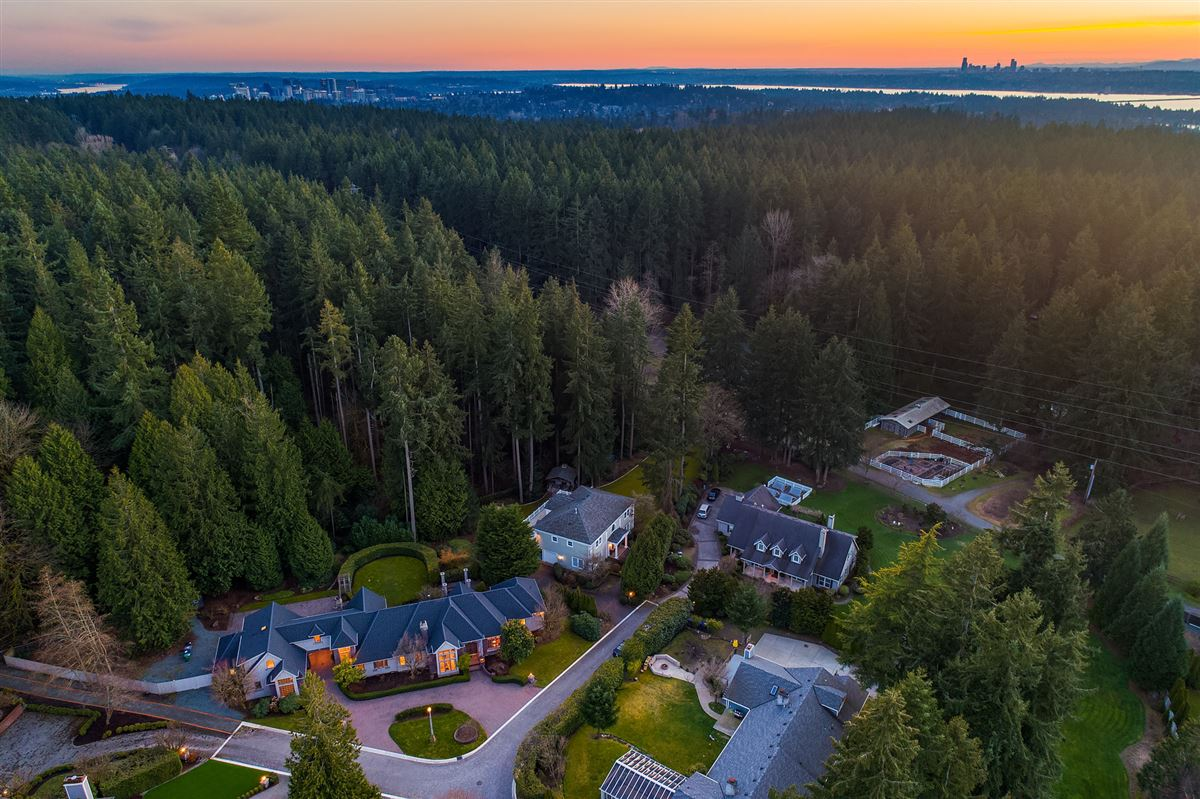 Luxury real estate Street of Dreams home in Kirkland Hunt Club