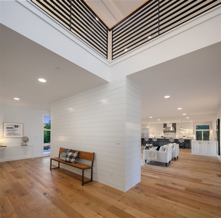 Luxury homes new construction urban farmhouse