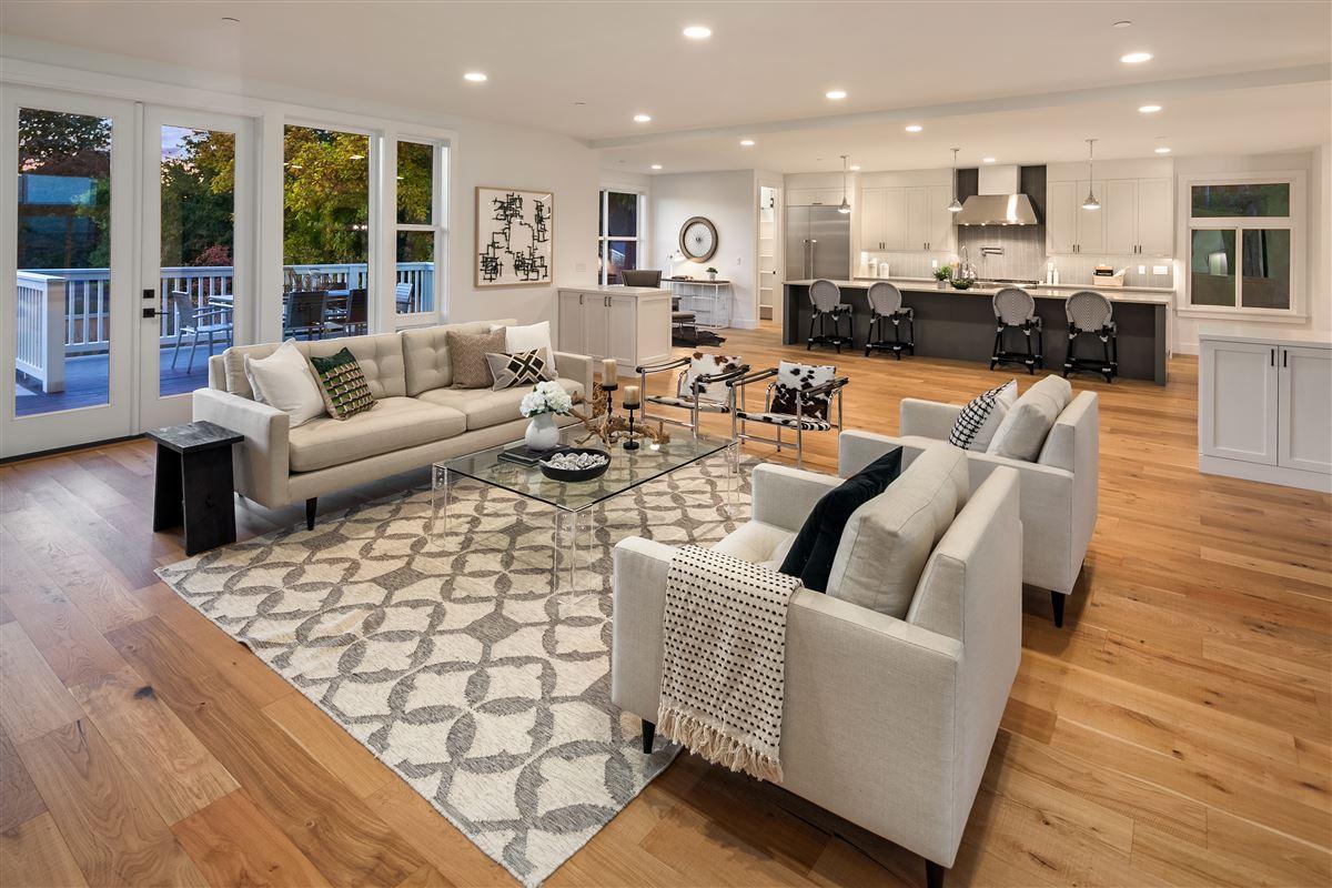 Luxury properties new construction urban farmhouse