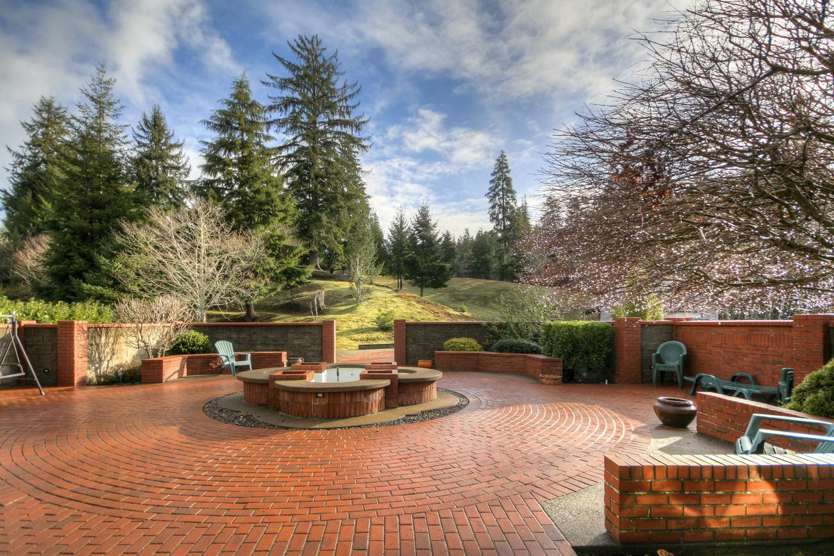 Luxury real estate pastoral and forested country estate