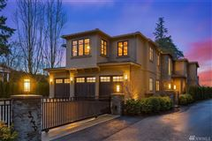 Luxury properties Evergreen Point gated estate