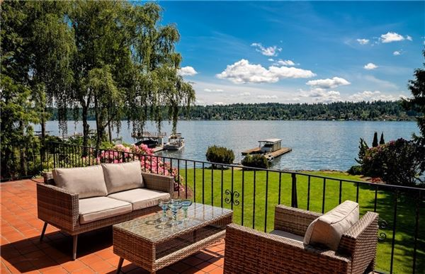 rare property with prime waterfront mansions