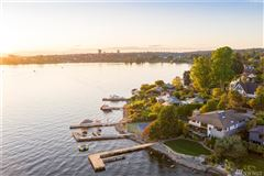 Luxury homes in Urban luxury living with Webster Point waterfront