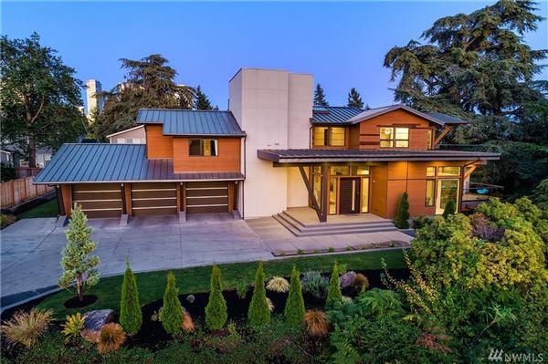 Mansions ultimate urban Northwest Contemporary retreat