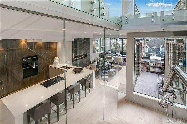 Luxury homes modern Queen Anne luxury home