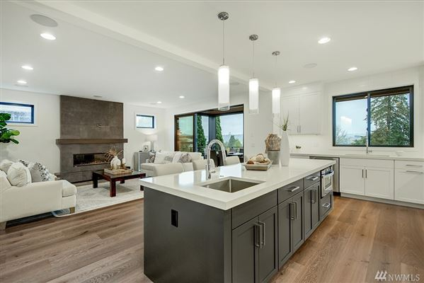 Mansions in Stunning new home in Laurelhurst by Winfield Homes