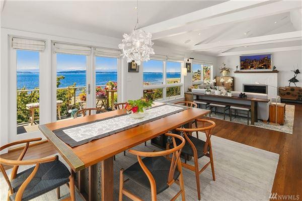 Beautiful Mid Century Modern Waterfront Home Washington Luxury Homes Mansions For Sale Luxury Portfolio