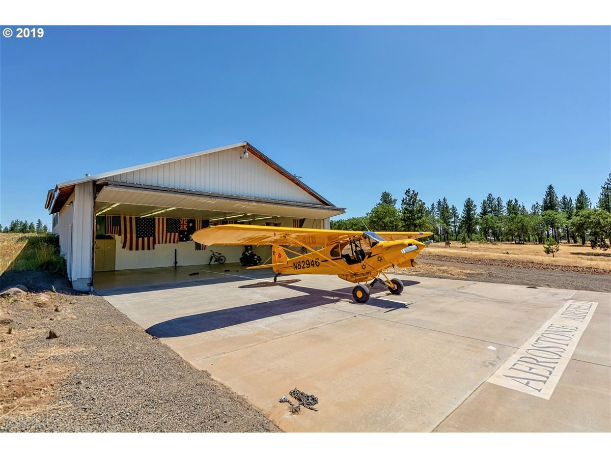 Mansions Exceptional Aerostone Airfield and Ranch