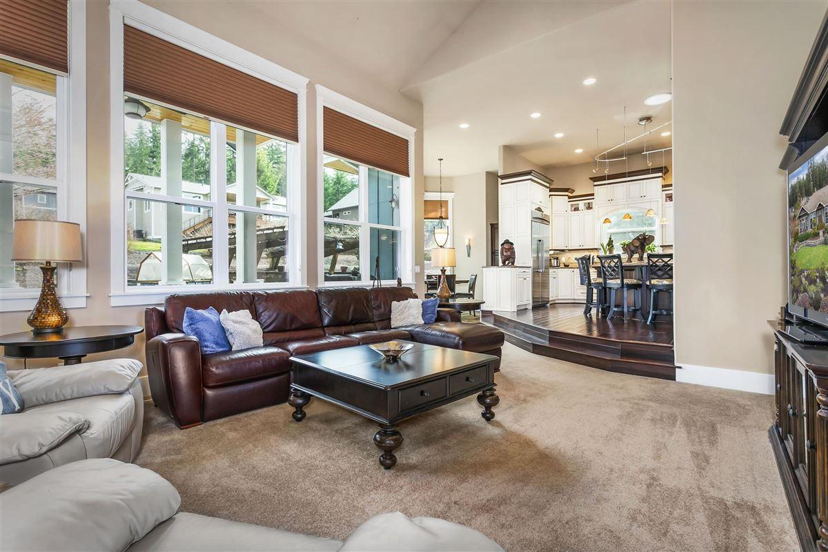 Striking one owner custom home luxury real estate