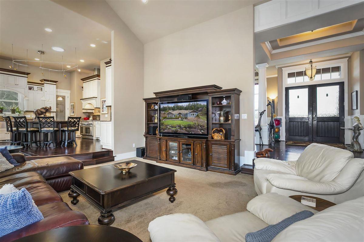 Luxury properties Striking one owner custom home