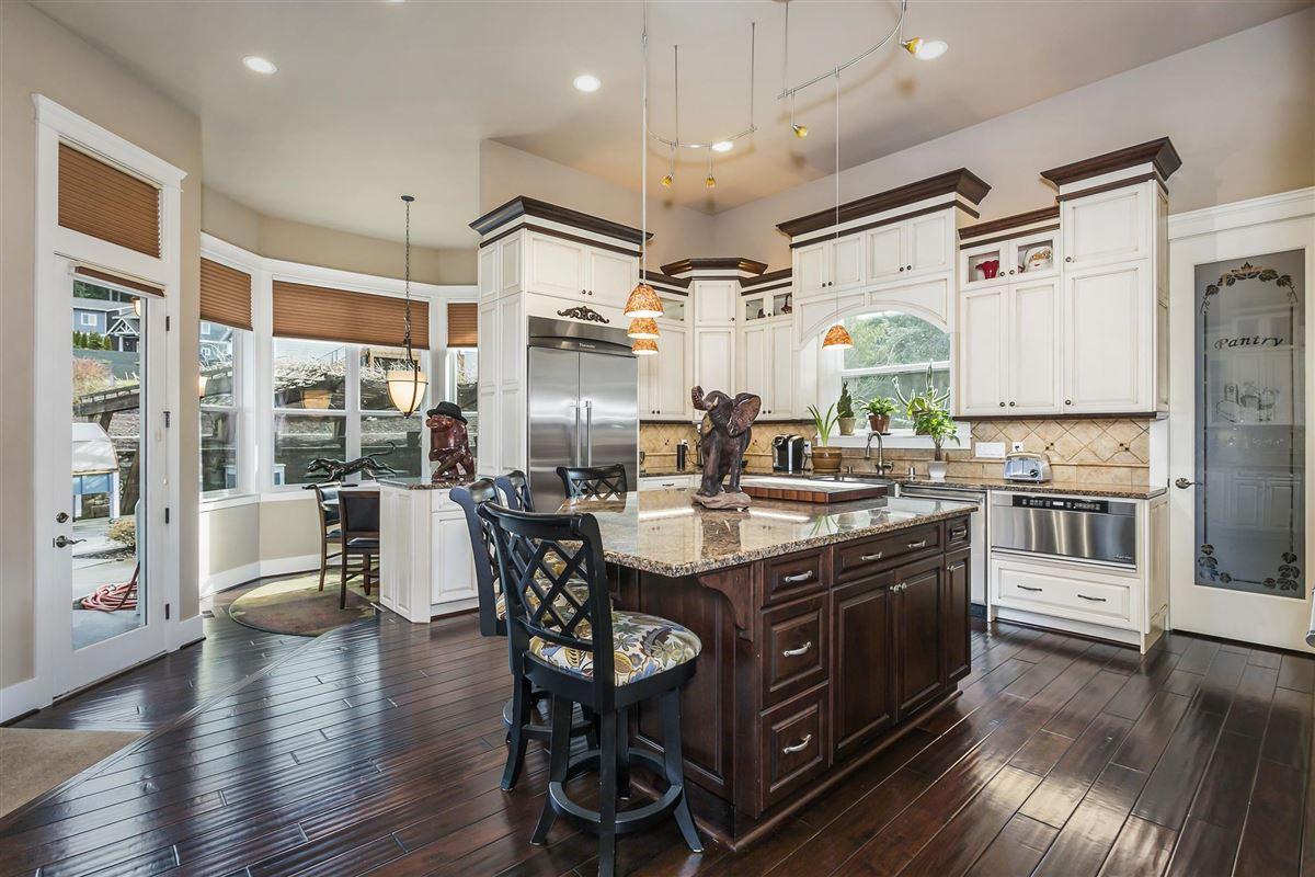 Mansions Striking one owner custom home