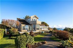 Luxury homes in quintessential Northwest home on coveted Alki Point
