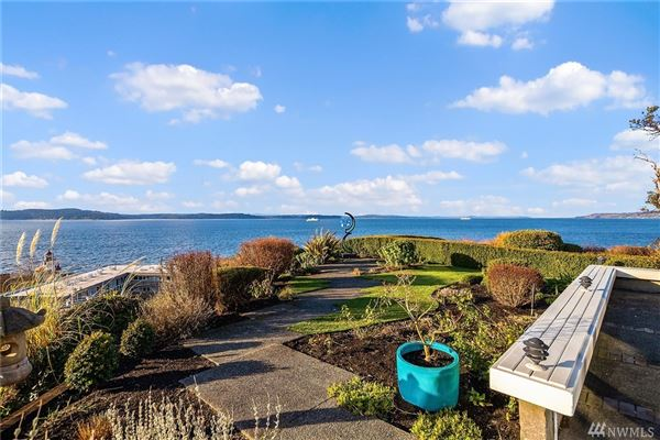 quintessential Northwest home on coveted Alki Point luxury real estate