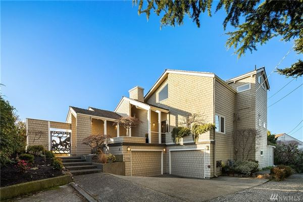 Mansions quintessential Northwest home on coveted Alki Point