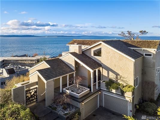 quintessential Northwest home on coveted Alki Point mansions