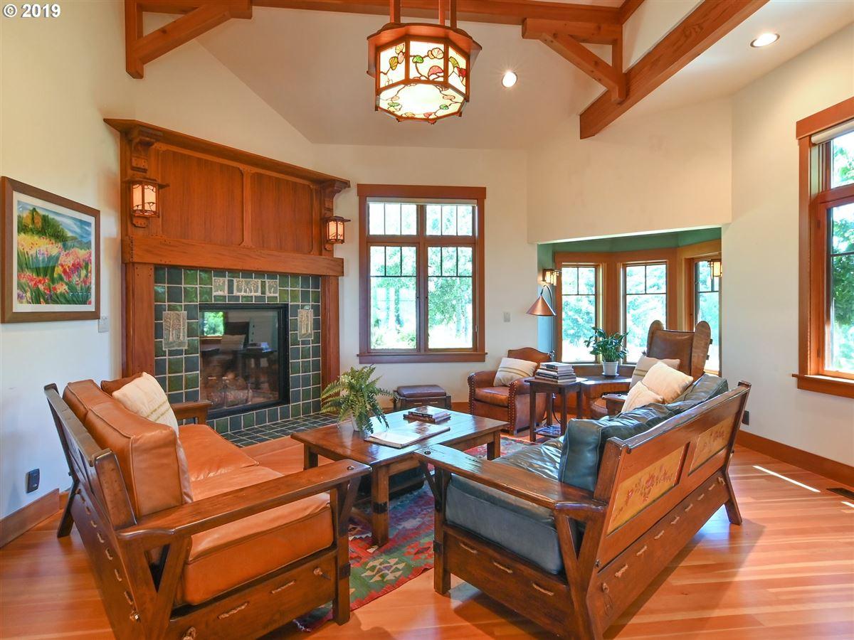Luxury real estate custom craftsman on 22 acres