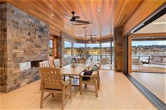 Luxury homes Timeless and Refined low bank waterfront home