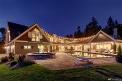 Luxury homes in Custom built home on two-plus acres in Woodway Park