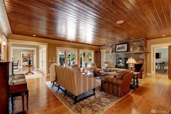 Luxury real estate Custom built home on two-plus acres in Woodway Park