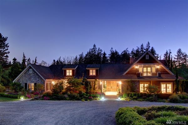 Custom built home on two-plus acres in Woodway Park luxury properties