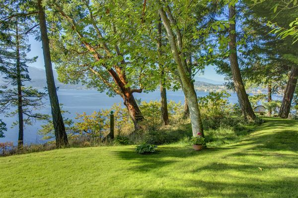 Luxury homes in Sequim Bay Point Waterfront