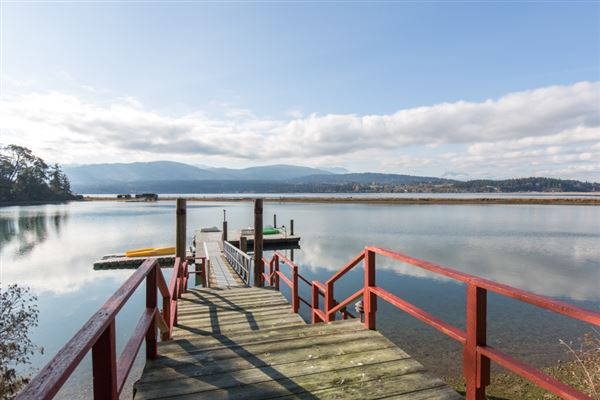 Luxury homes Sequim Bay Point Waterfront