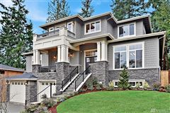 Luxury real estate exceptional new residence in the heart of bellevue
