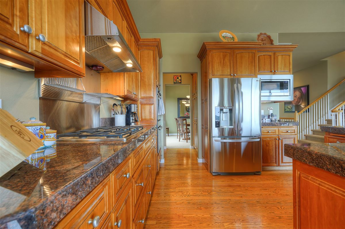 Luxury homes in custom view home in gated community
