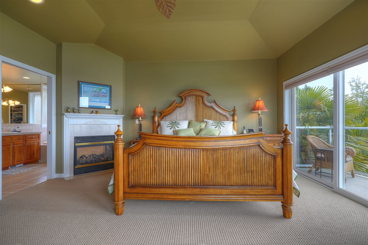 Luxury real estate custom view home in gated community