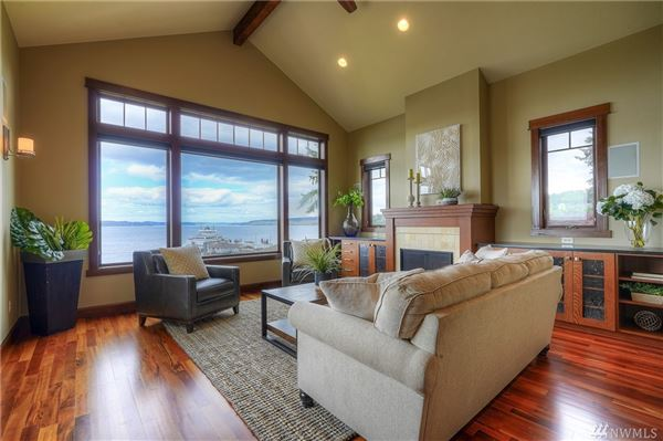 Luxury homes architecturally designed modern craftsman with breathtaking views